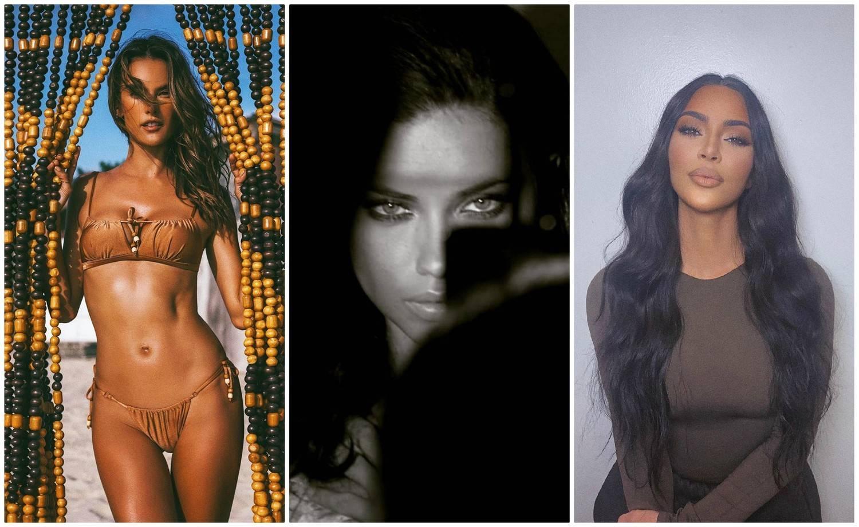 Alessandra Ambrósio, Adriana Lima e Kim Kardashian farão desfile virtual