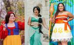 As princesas da Disney têm sido, há décadas, uma inspiração para milhões de meninas que sonham com uma realidade encantada, seja em relação à vida ou à aparência. Mas a verdade é que poucas garotas conseguem se ver representadas pela Branca de Neve ou a Cinderela, por exemplo. Via de regra, grande parte das princesas são brancas e sempre magras. Pensando nisso, a influenciadora de moda pluz size Natasha Polis, que é norte-americana, reuniu suas amigas para um ensaio para lá de inspirador, onde os internautas foram convidados a pensar as princesas com corpos reais. Confira!Veja também:Menina ganha chamada de vídeo com princesas da Disney