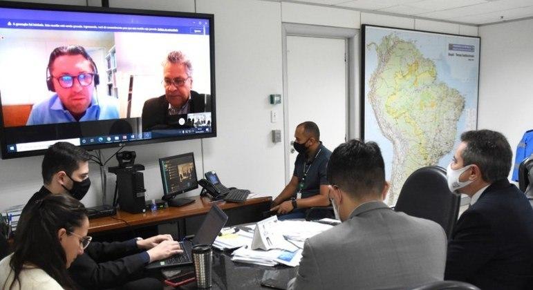 Equipe do Ministério da Saúde se reuniu com representantes da Moderna