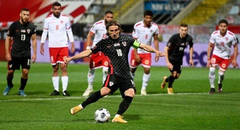 Modric, o capitão da Croácia que, em casa, sofreu até superar o time de Malta
