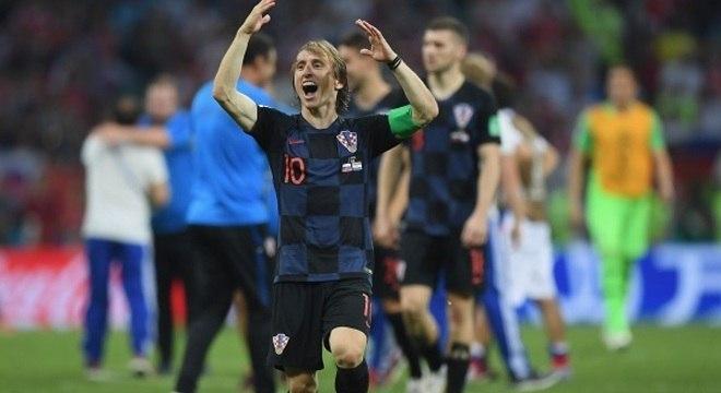 Modric. Humildade e puro talento a favor da Croácia. Ídolo diferente