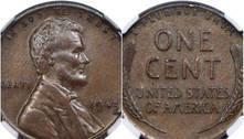 Moeda rara de um centavo cunhada em 1943 é vendida por R$ 740 mil