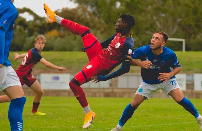 Mohamed Toure (Austrália) - Clube: Adelaide United (Austrália) - Posição: Atacante