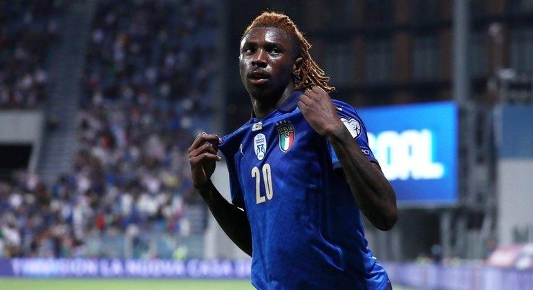 """Moise Kean, da Juventus, o novo artilheiro da """"Azzurra"""""""