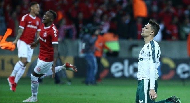 Moisés desperdiçou o pênalti que tirou o Palmeiras da Copa do Brasil