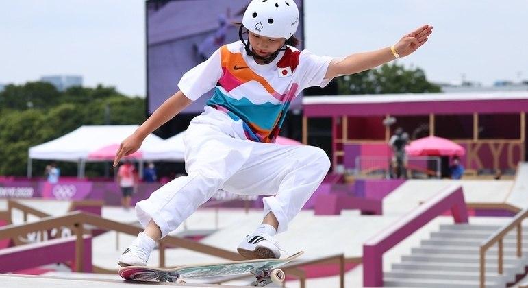 Momiji Noshiya celebrou legado olímpico do Ariake Urban Sports Park depois de Tóquio 2020