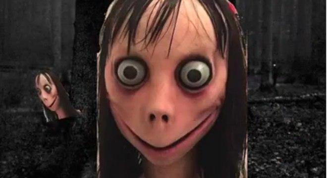 Imagem da Momo interrompe exibição de vídeo infantil popular na internet