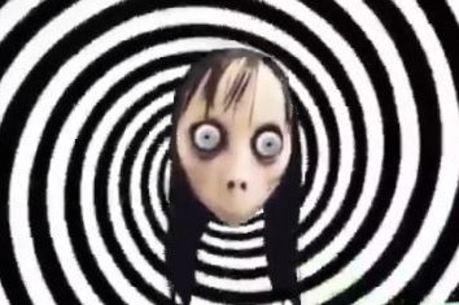 A Momo que estaria em vídeo do YouTube Kids