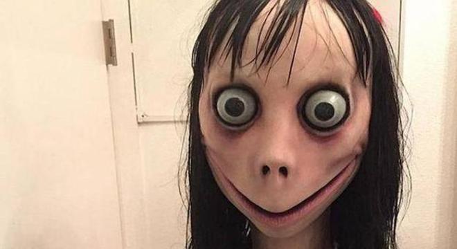 """Esta é a cara da """"Momo"""""""