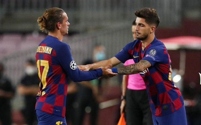 Monchu - Um jogo pelo Barcelona, sem gols e sem assistências.