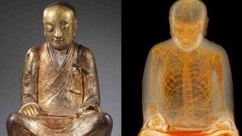 Cientistas acham múmia de monge dentro de estátua de mil anos (Reprodução/YouTube/WWE)