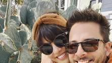 Monica Benini revela como conheceu o marido, Junior Lima