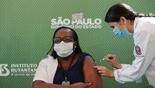 Enfermeira de SP é primeira pessoa vacinada contra covid-19 no Brasil