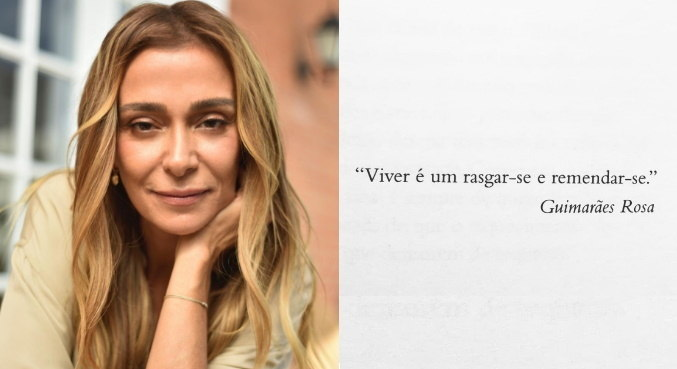 Com frase de Guimarães Rosa, Mônica Martelli fez 1ª publicação após polêmica