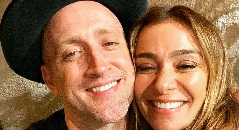 Mônica Martelli comemora quadro de saúde do amigo Paulo Gustavo