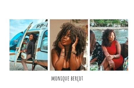 Monique Berçot, 25, conduz a empresa Luxuoso Dia