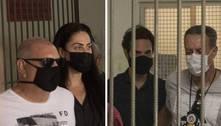 Henry: Casal jogou celulares pela janela durante a prisão, diz polícia