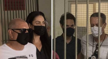 Monique e Dr. Jairinho seguem em prisão temporária