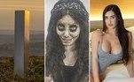 Monolito gigante e 'surreal' é visto em parque da Inglaterra.Influenciadora 'Angelina Jolie zumbi' é condenada a 10 anos de prisão.'Kim Kardashian mexicana' morre em cirurgia e funeral é transmitido.A seguir, os conteúdos mais lidos doHORA 7na última semana!