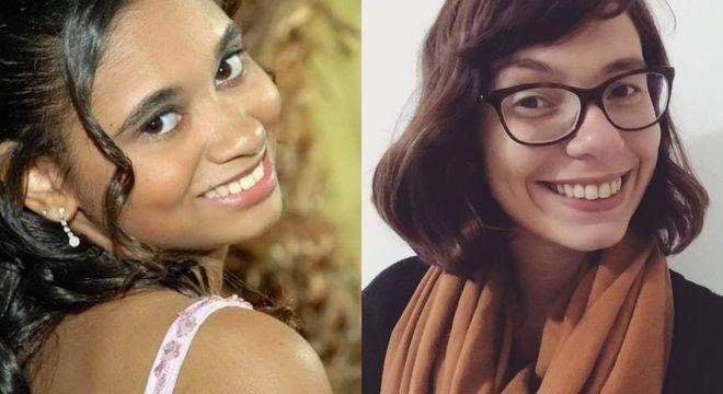 Mayra e Ana Luiza se informam, mas ainda não tiraram o dinheiro da poupança