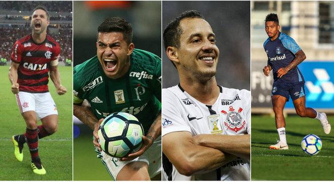 Brasileirão 2018 retorna com grandes jogos a partir desta quarta-feira (18)