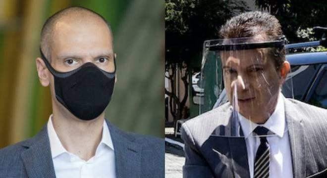 Bruno Covas (27%) e Celso Russomanno (22%) aparecem empatados tecnicamente