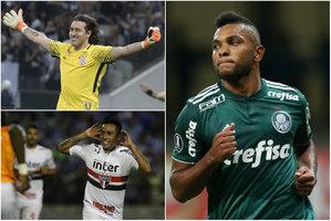 eeecfb5d93 Os clubes brasileiros terão nove representantes na Copa da Rússia.  Corinthians e Flamengo têm dois ...