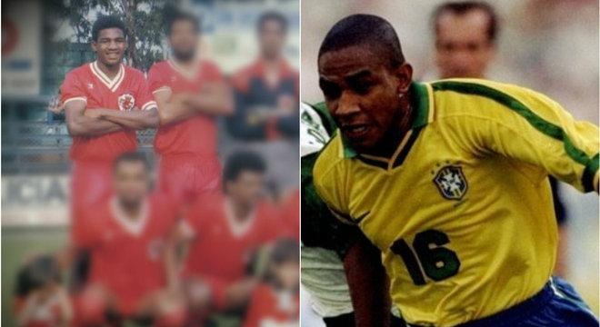Cesar Sampaio no Moleque Travesso da Vila Guarani e na seleção brasileira