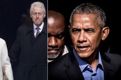 Ex-presidentes não ficaram feridos