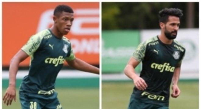Montagem Danilo e Luan Palmeiras