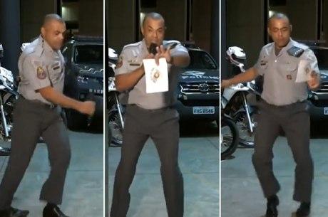 Dancinha de PM viralizou nas redes sociais