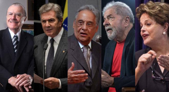 Os cinco presidentes com direito aos benefícios