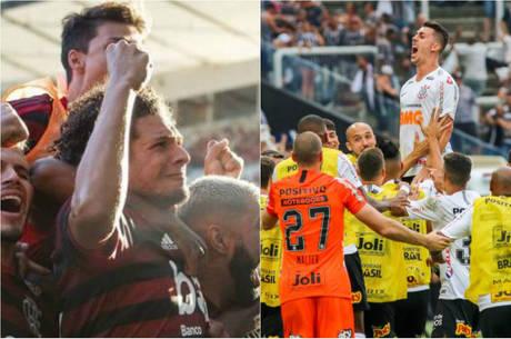 Fla e Corinthians se enfrentaram na semi em 2018