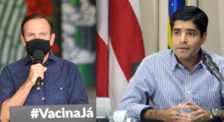 Doria (PSDB) e ACM Neto (DEM): antigos parceiros vivem 'guerra fria'