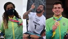 Sem medalhas na madrugada, Brasil cai no ranking geral nos Jogos