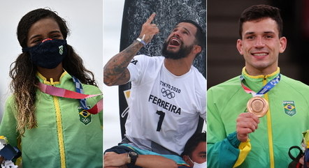 Fadinha, Italo e Daniel Cargnin levaram medalhas