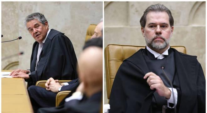 Sequência de decisões de Marco Aurélio e Dias Toffoli expõe fragilidades da alta corte