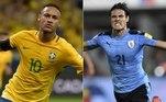 montagem, Neymar, Cavani,