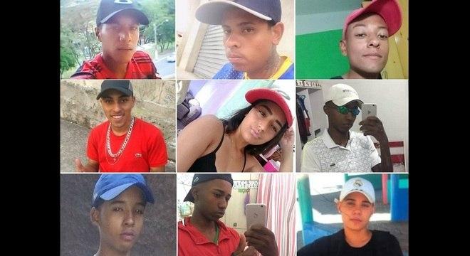 Tragédia em baile funk fez nove vítimas, entre 14 e 23 anos de idade