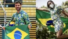 Bruninho eKetleyn Quadros serão porta-bandeiras em Tóquio 2020