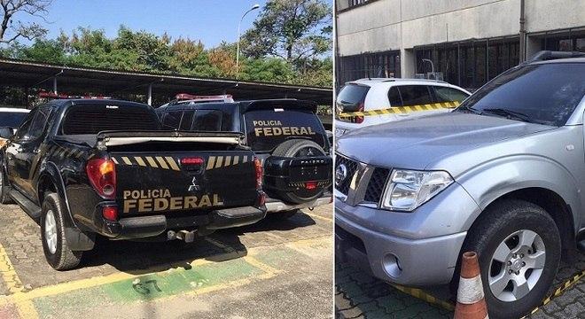 Veículos utilizados durante o roubo foram apreendidos