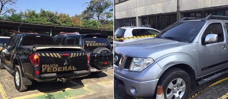 Carros, usados no roubo milionário, foram localizados pela polícia de São Paulo