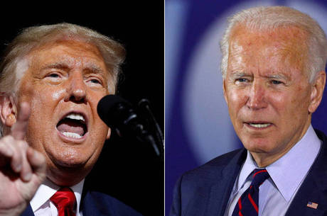 Trump e Bidem disputam vaga na Casa Branca