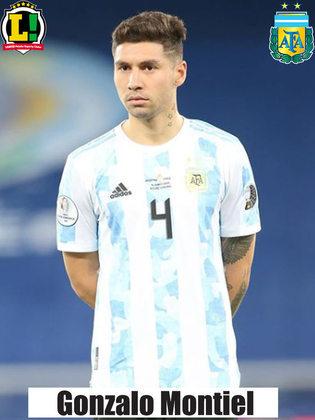 Montiel - 6,5 - Seguro na defesa. Anulou o Everton e não deu espaços para o Brasil no setor mesmo após a entrada de Vinícius Junior.