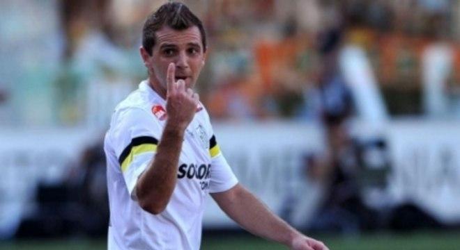 Argentino deixou o Cruzeiro rumo ao Santos