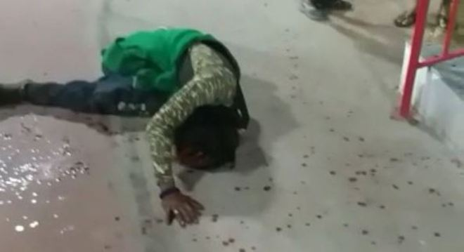 Morador de rua diz ter sido agredido por vereador
