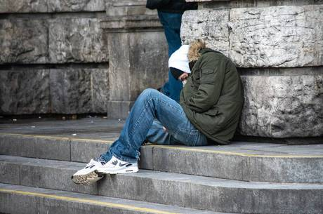 Cidade ganhou 60% mais moradores de rua
