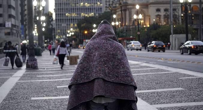Até a última sexta (23), foram aplicadas 28.431 doses em moradores de rua acima de 18 anos