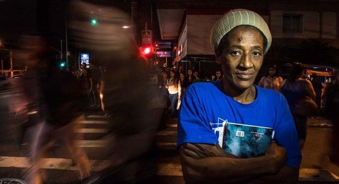 Vilma Aparecida da Silva está na rua há mais de 36 anos