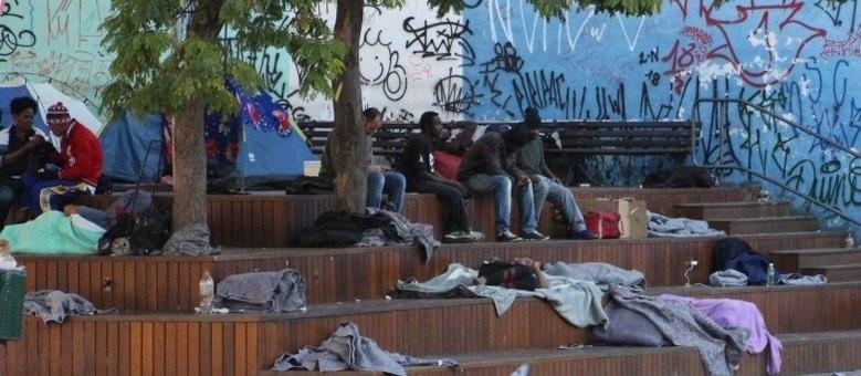 A cada dia é mais visível o reflexo do desemprego nas ruas das grandes capitais